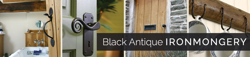 Black Antique Ironmongery