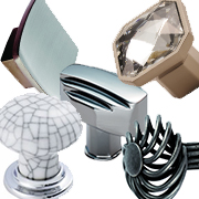 Fingertip Design Cupboard Knobs