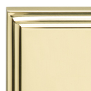 Polished Brass Stepped