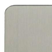 Satin Steel Flat Plate