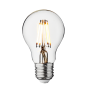 Industville Vintage LED Edison Bulb Old Filament Lamp - 5W E27 Classic A60 - Clear