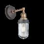 Brooklyn Outdoor & Bathroom Wall Light - Copper Holder
