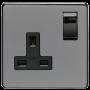 CBN Socket 1 Gang 13 Amp DP Switched