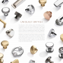 CROFTS & ASSINDER CUPBOARD KNOBS COLLECTION