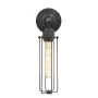 Industville Orlando Cylinder Wall Light - Pewter - 3 Inch