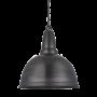 Industville Retro Large Pendant - Pewter - Pewter Hook Chain Holder - 17 Inch