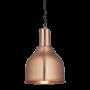 Industville Sleek Cone Pendant - Copper - Copper Holder - 7 Inch