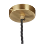 Matching Brass Ceiling Rose