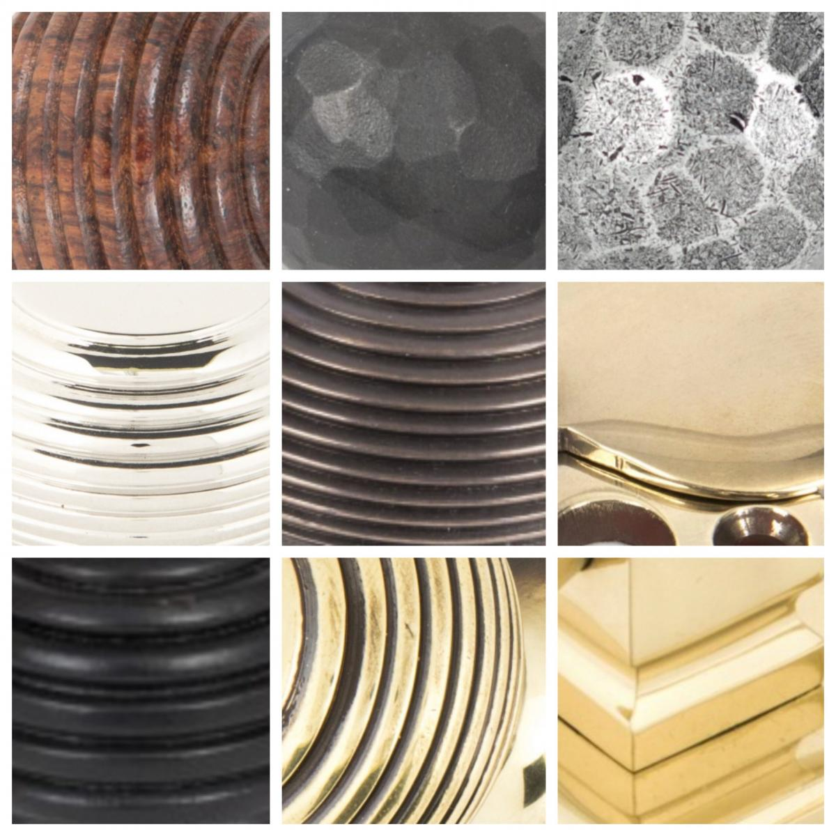 From The Anvil and Wenlock Range - Guide To All Finishes