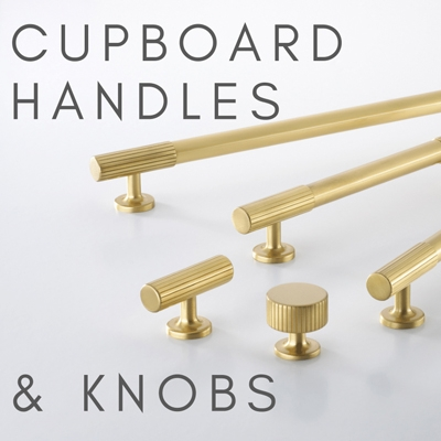 Cupboard Handles & Door Knobs