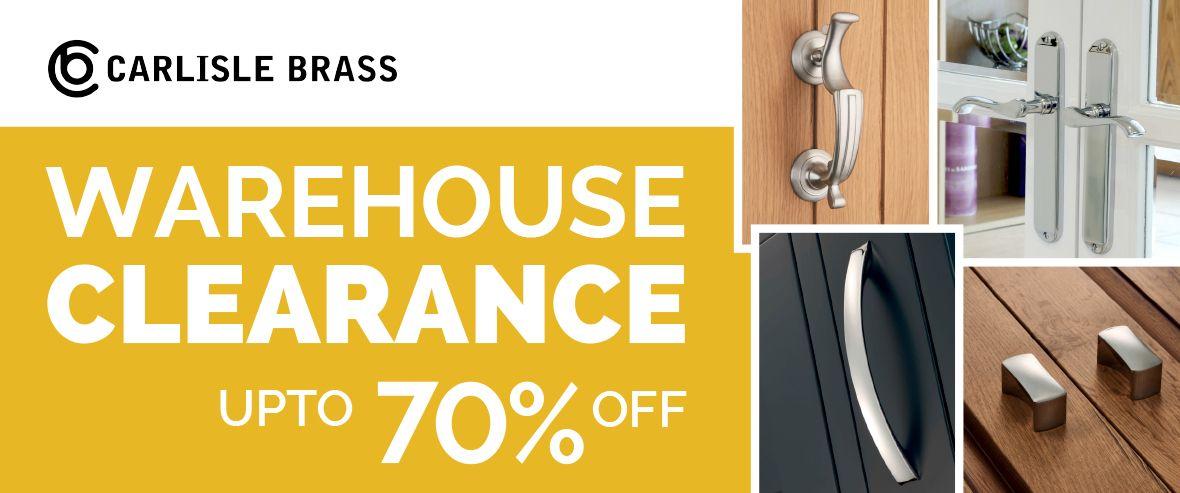 70% Sale Now On Carlisle Brass Items