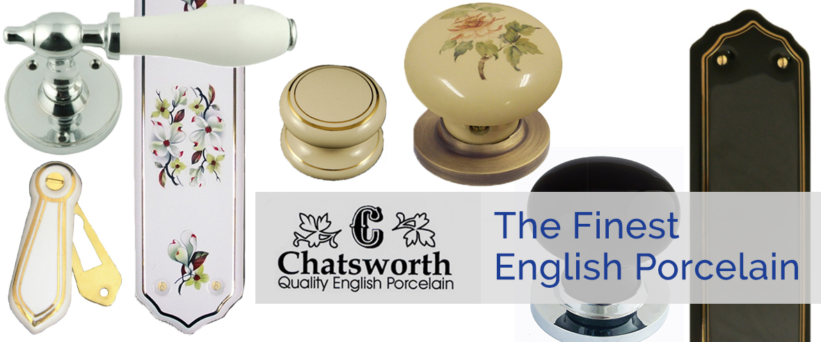 Chatsworth Porcelain Handles & Knobs