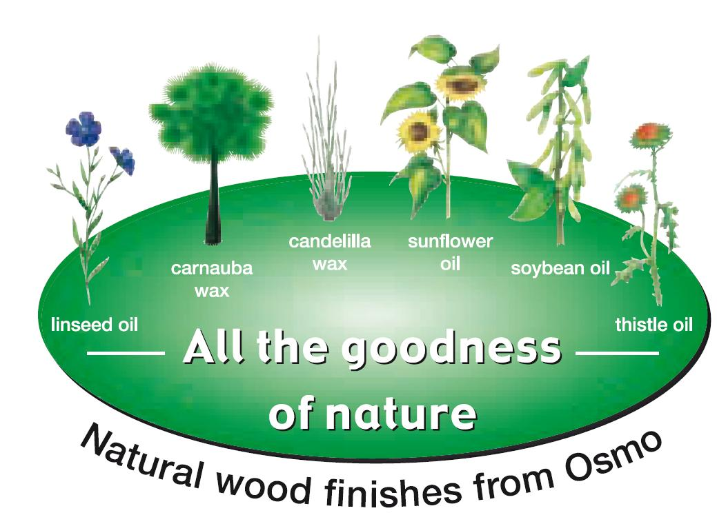 osmo oil natural ingredients