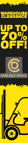 Carlisle Brass Clearance
