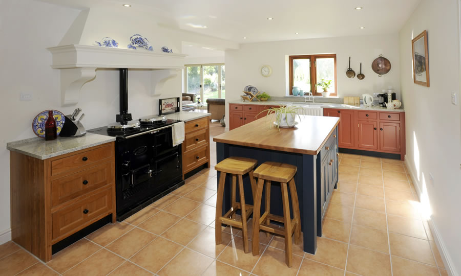 wooden cupboard knob in kitchen