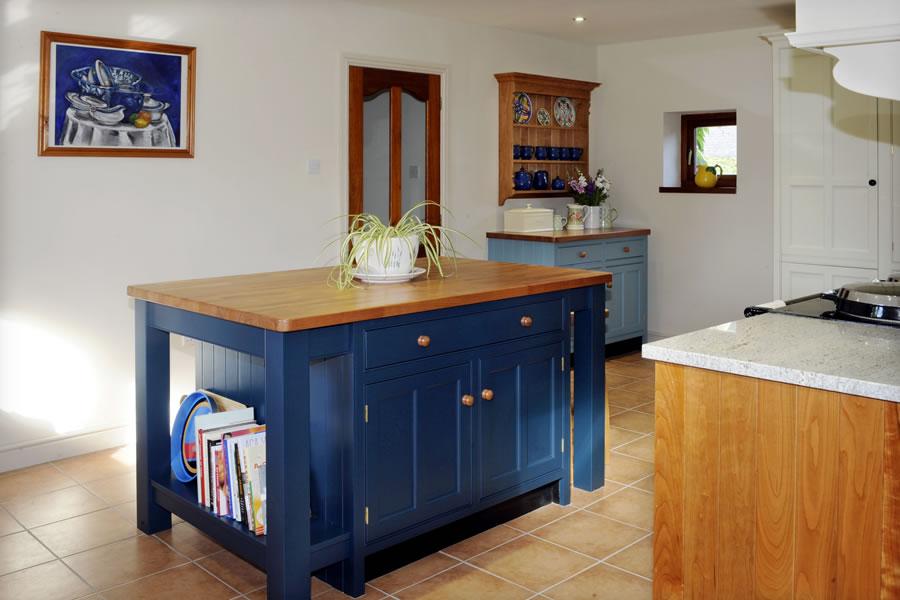 wooden cupboard knob in situ