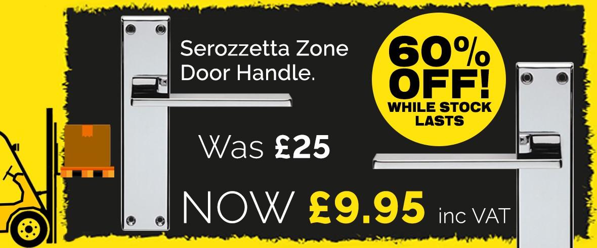 Zone Clearance Door Handle