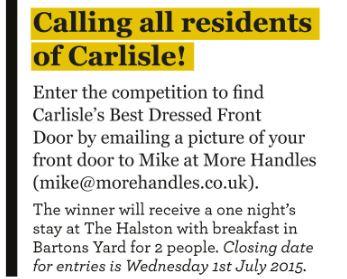 carlisle ambassadors competition