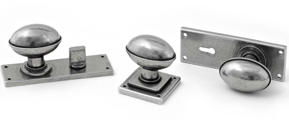 Finesse Pewter Lincoln Door Knob