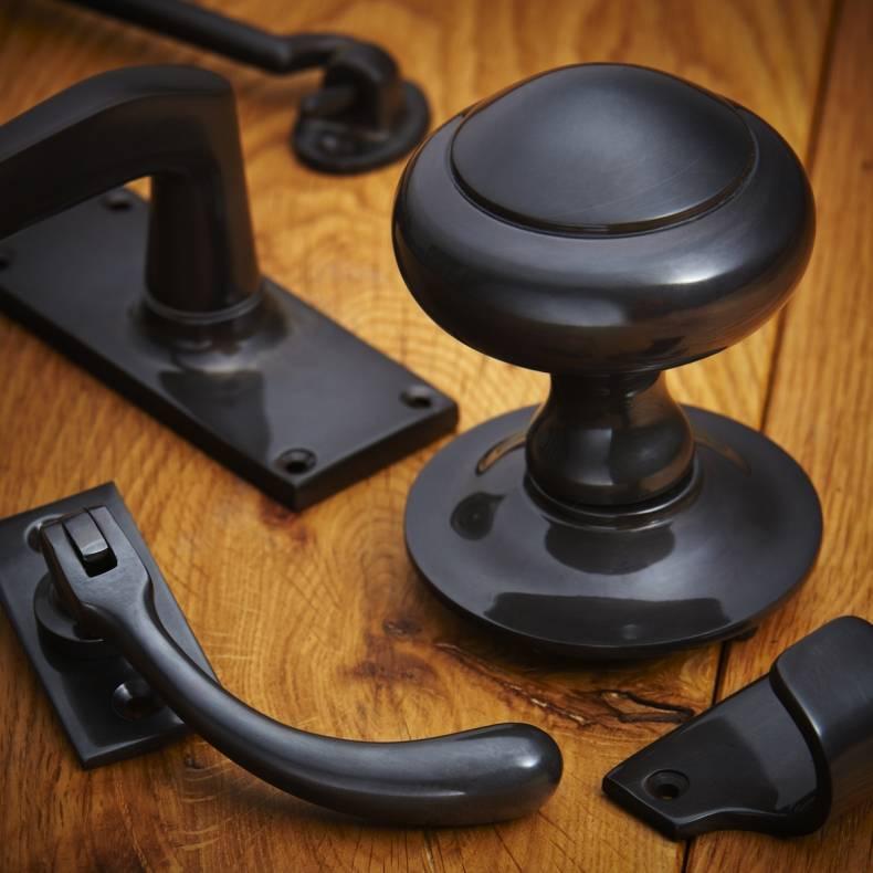 croft hardware dark bronze metal antique