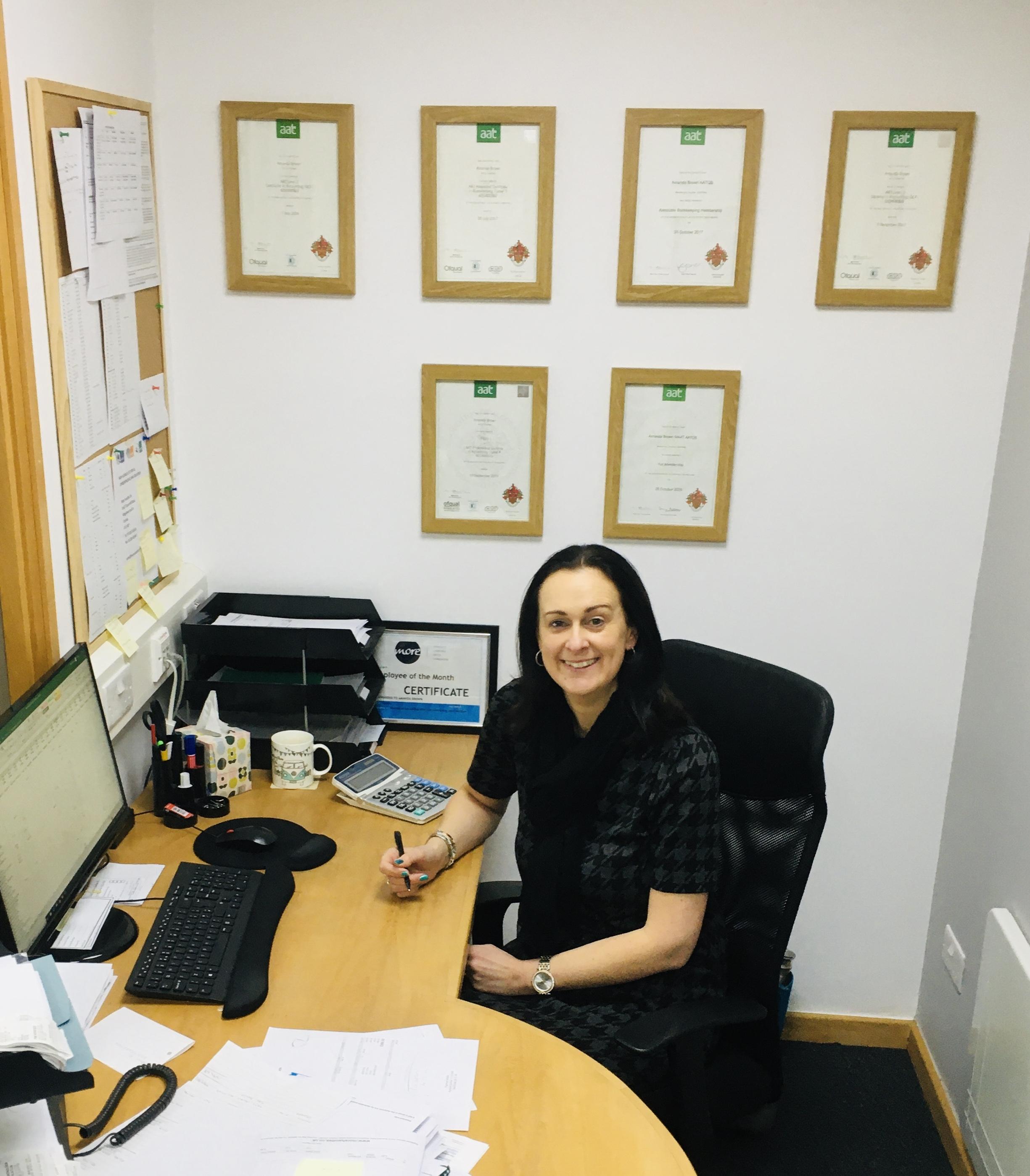 Amanda Brown Office