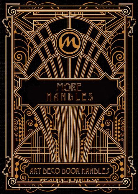 More Handles Art Deco Door Handle Collection