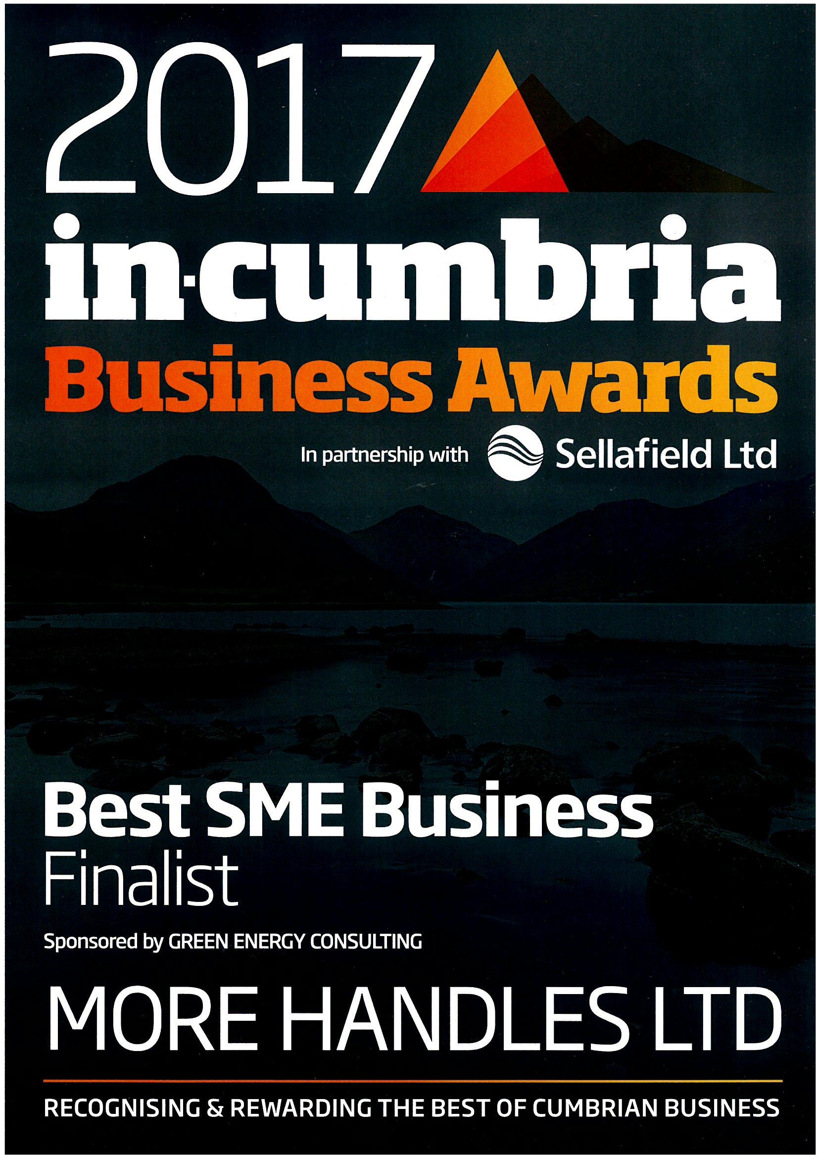 in cumbria best SME business award finalist