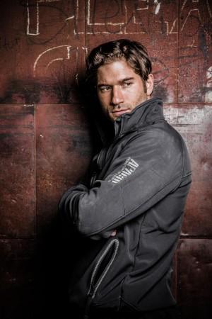 apache industrial workwear model jacket