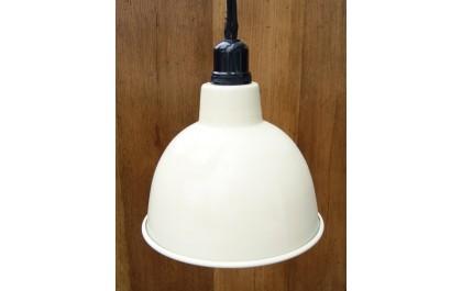 factory pendant lampshade cream