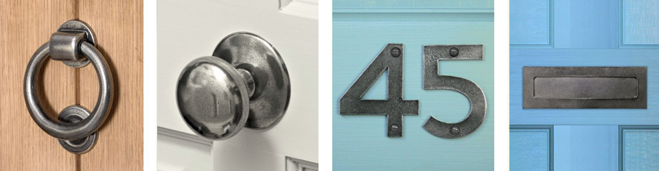 finesse pewter door accessories