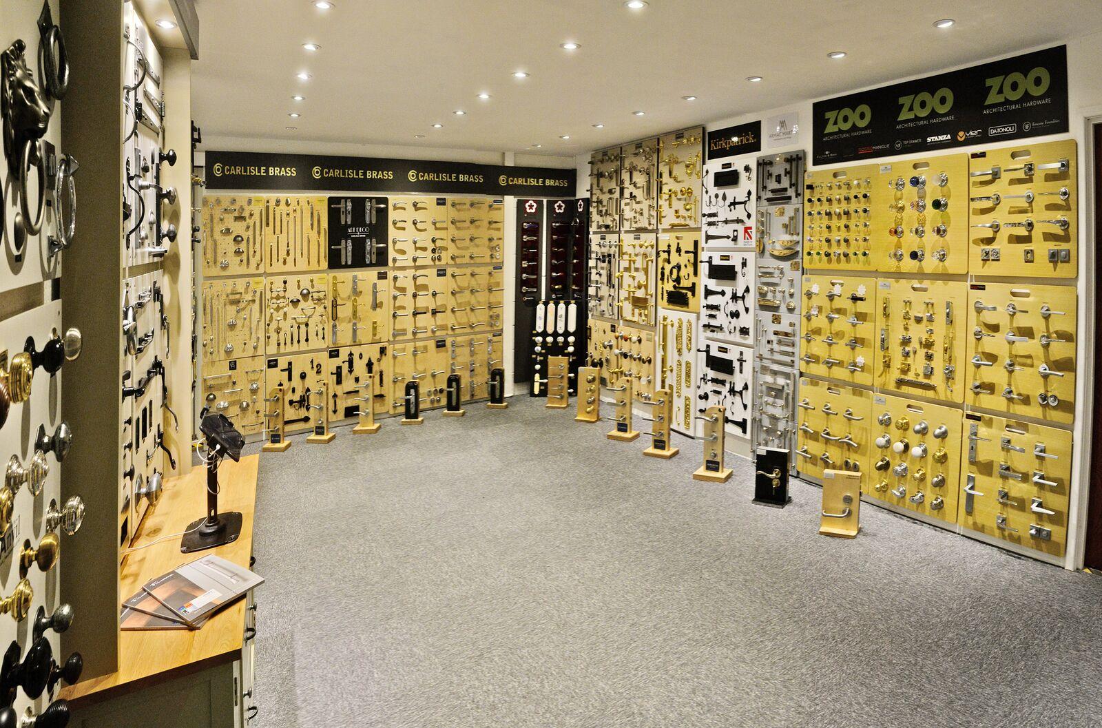 more handles kendal showroom