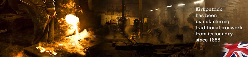 kirkpatrick ironmongery foundry