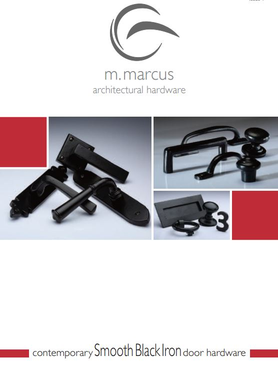 M. Marcus Smooth Black Iron Collection