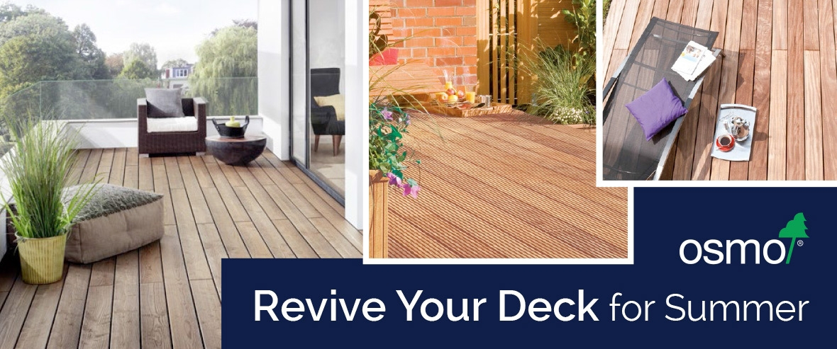 Revive Garden Furniture and Decking with More Handles