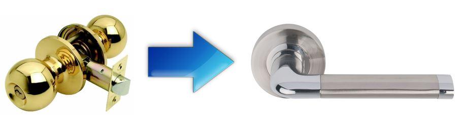 renova door handles weiser replacement