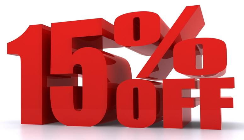15% discount at More Handles