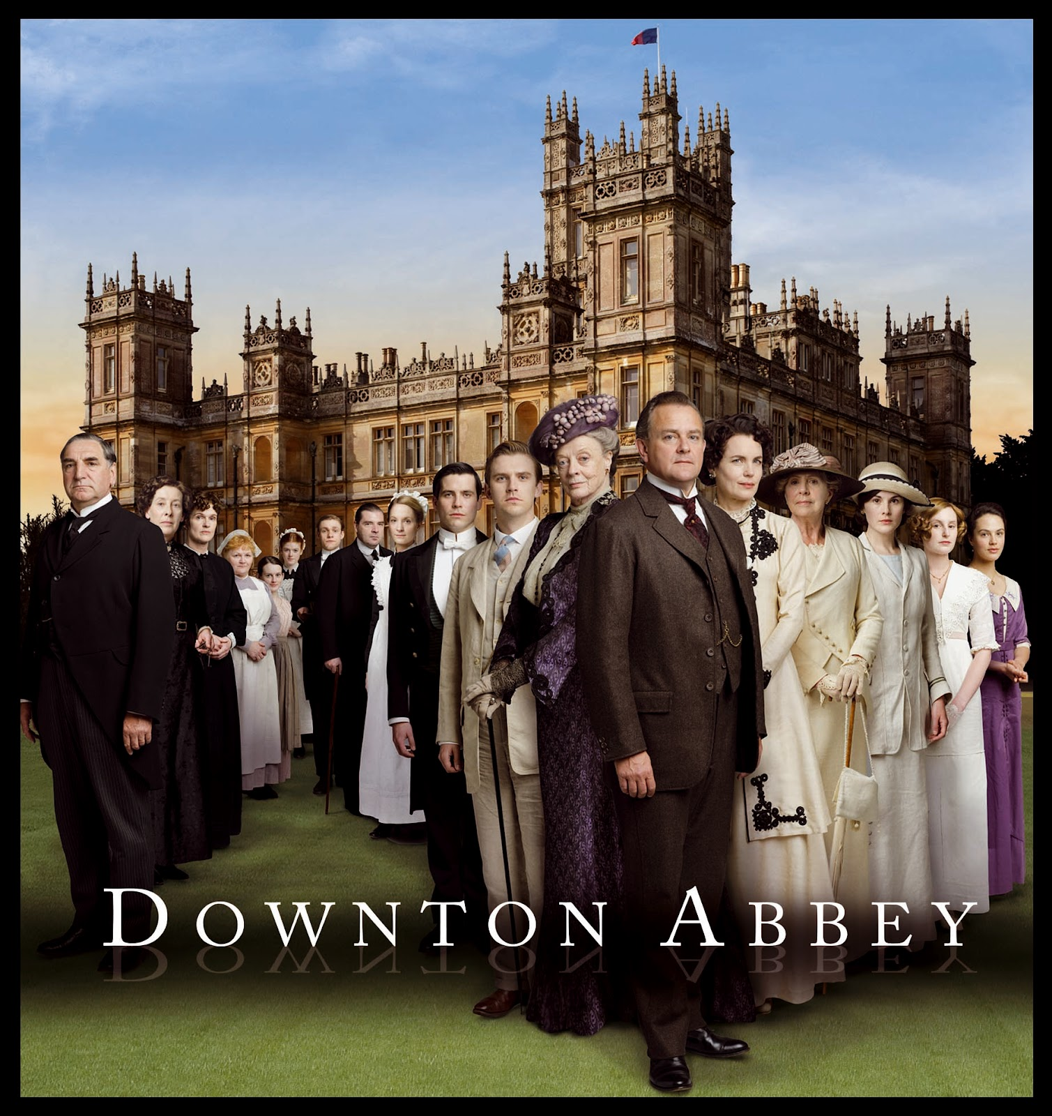 Downton Abbey Unlacquered Brass