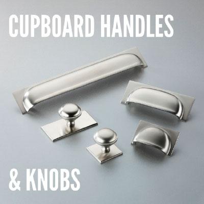 Cupboard Handles & Door Knobs