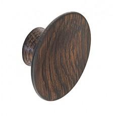 concave wooden cupboard knob k966