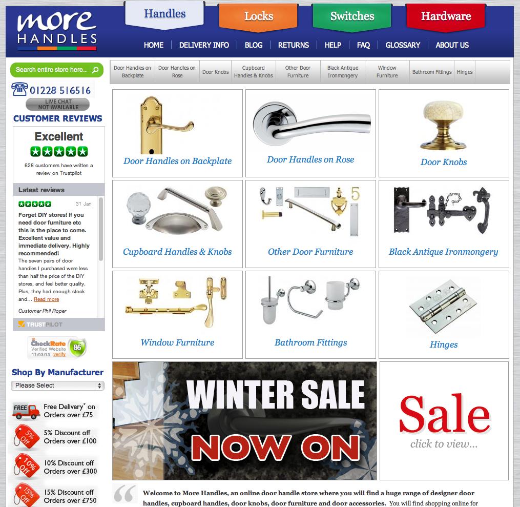 More Handles Homepage
