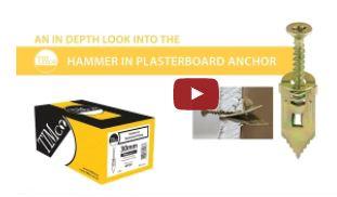 HAMMER IN PLASTERBOARD