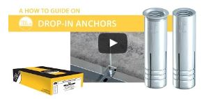 TIMco Drop-In Anchors