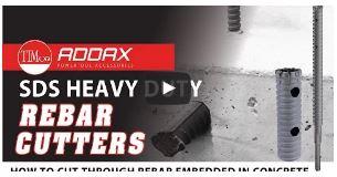 ADDAX SDS Rebar Cutter