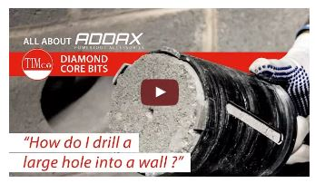 ADDAX professional diamond core bits