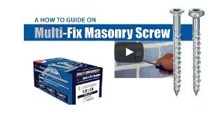 TIMco Multi-Fix Masonry Screw