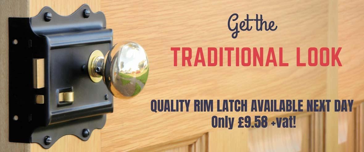 Traditional Rim Latch